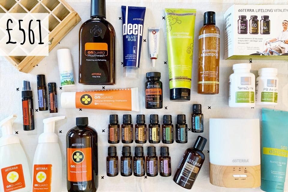 doTERRA Natural Solutions Kit for £561 - Tash Kenworthy