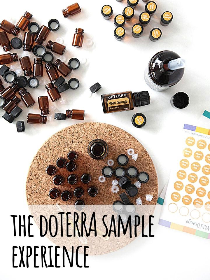 The doTERRA UK Sample Experience - Page Header sm - Tash Kenworthy