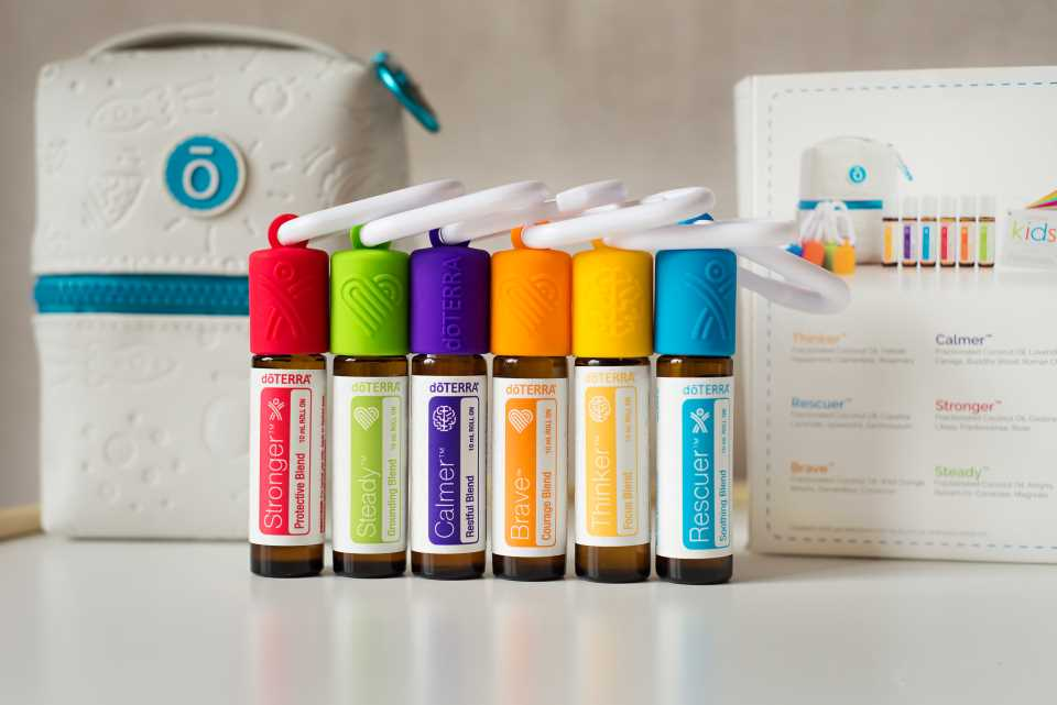 kids oil collection from doterra uk