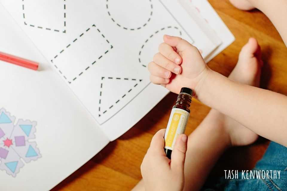 thinker focus blend for kids from doterra essential oils uk