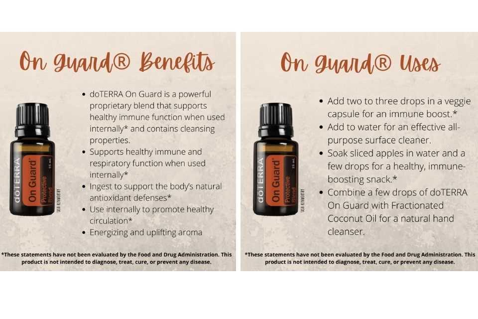 immune boost essential oils for health and wellness doterra uk on guard
