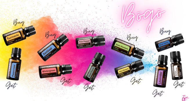buy one get one free with doTERRA BOGO week in the UK